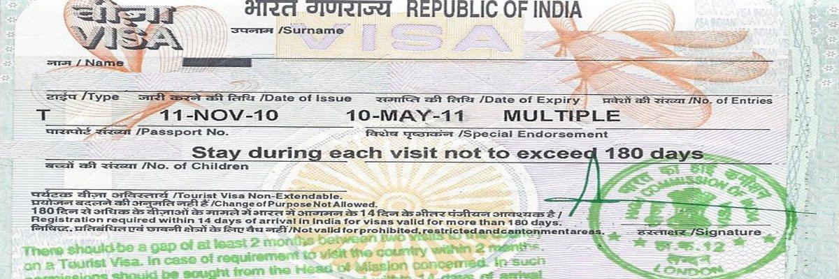 Regular Tourist Visa Indian Visa Specialists Visa Simple